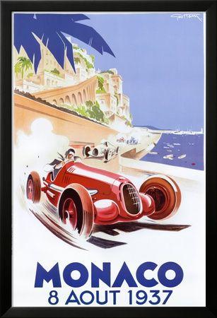 Art.fr - Reproduction d'art 'Monaco,1937' par Geo Ham