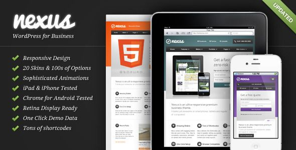 Nexus - Responsive Business WordPress Theme