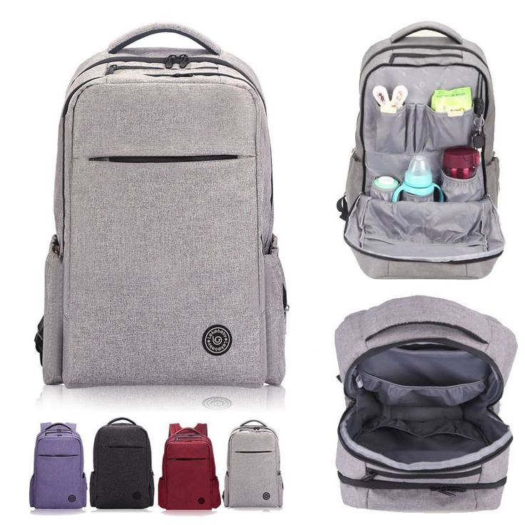 Water Resistant Baby Diaper Bag Backpack Changing Travel Ny