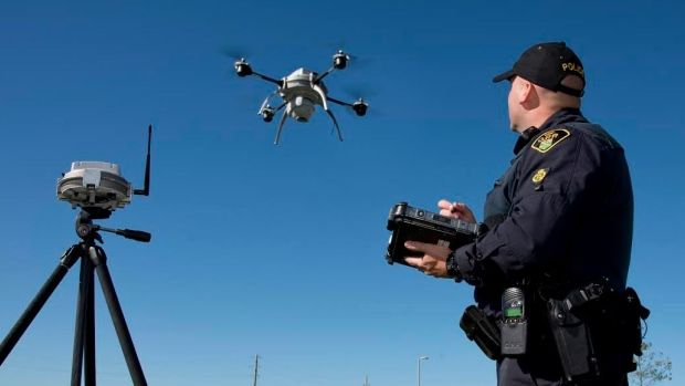First responders and private firms will test flying drones out of sight - Ottawa - CBC News