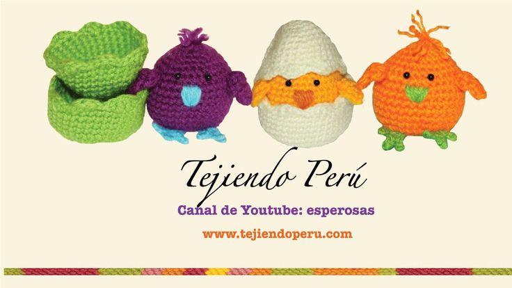 Tejiendo Peru Tutorial Amigurumi : Pollitos tejidos en crochet (amigurumi) Parte 1 (+lista de ...