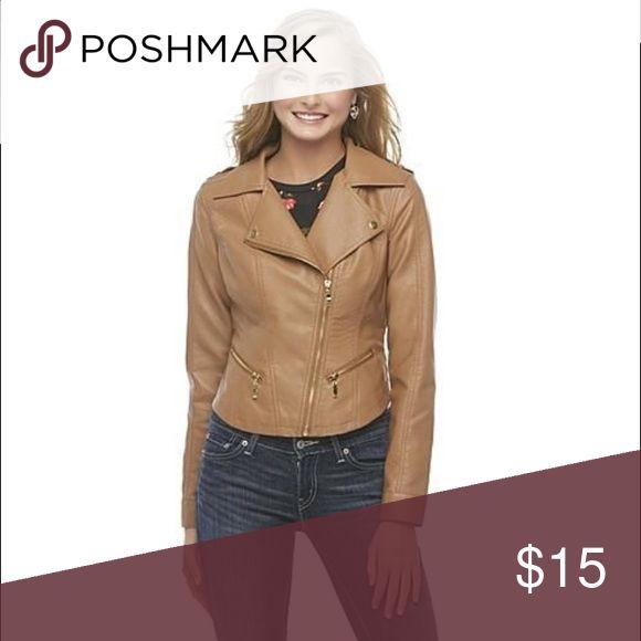 Selling this BONGO Faux Leather Jacket (Black) on Poshmark! My username is: jkozlov. #shopmycloset #poshmark #fashion #shopping #style #forsale #Jackets & Blazers