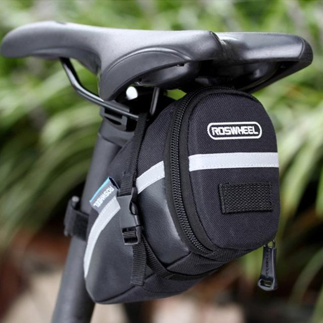 Roswheel 1 2l Portable Waterproof Bike Saddle Bag In 2019 Bike