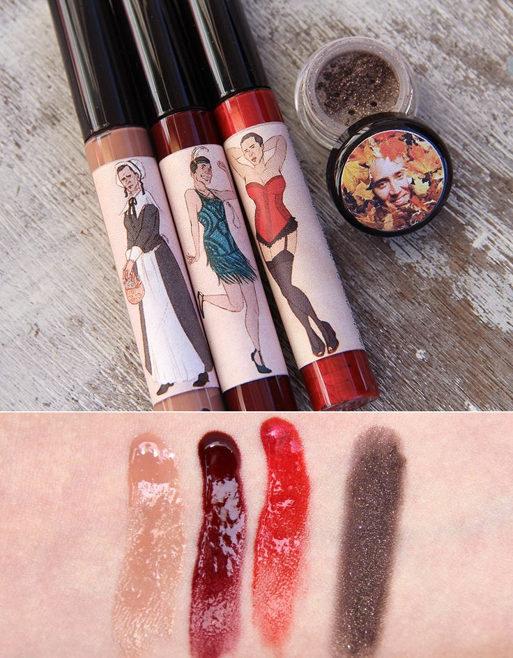 Nic Cage lip gloss. What a life. (Let's take a look at some Shiro Cosmetics products!)