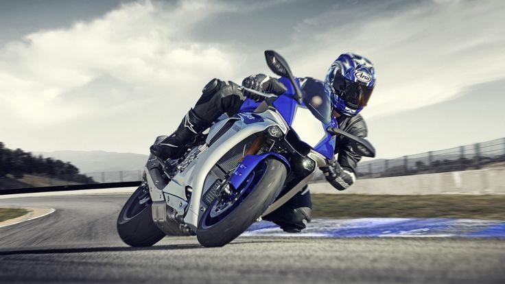 2015 Yamaha YZF-R1 EU Racing Blu