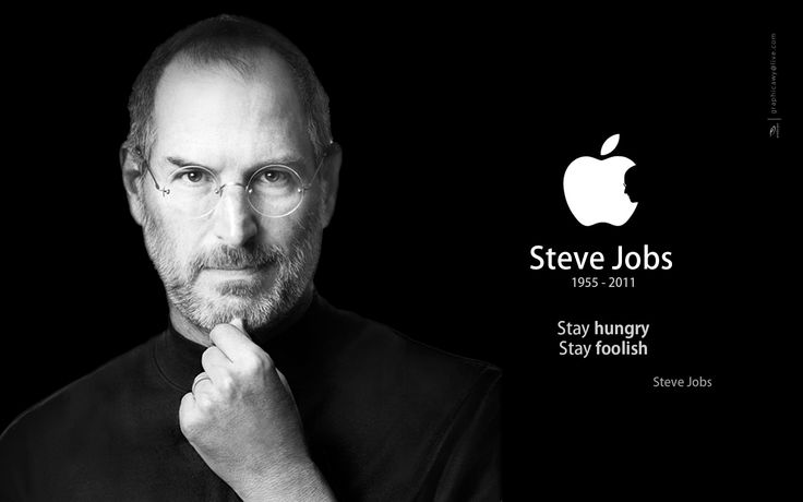 Steve Jobs was the Chairman and CEO of Apple Inc. He had a deep-seated interest in technology. In 1976, Jobs and Wozniak founded Apple Computer in the Jobs family garage.   History will remember how he applied imagination to technology and business.  He gave many motivational speeches, full of inspirational quotes. I've collected some of his most thought-provoking and inspiring quotes for you.