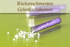 Homöopathie: Globuli bei Rückenschmerzen und Gelenkschmerzen Anja Liebertz