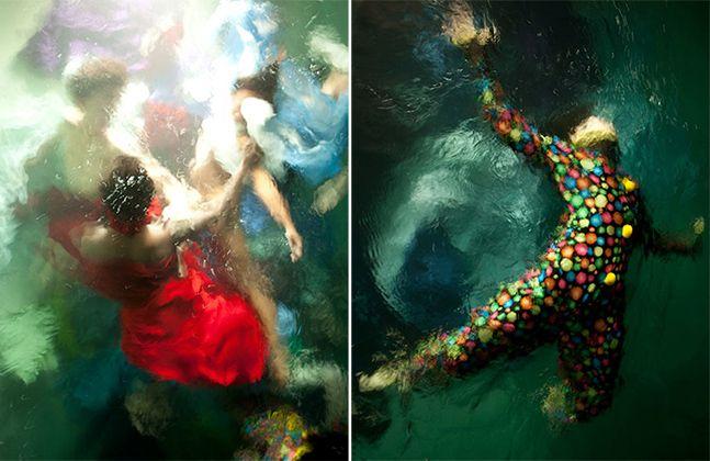 Sem Photoshop: Fotos feitas de baixo d'água parecem obras barrocas | www.christyrogers.com