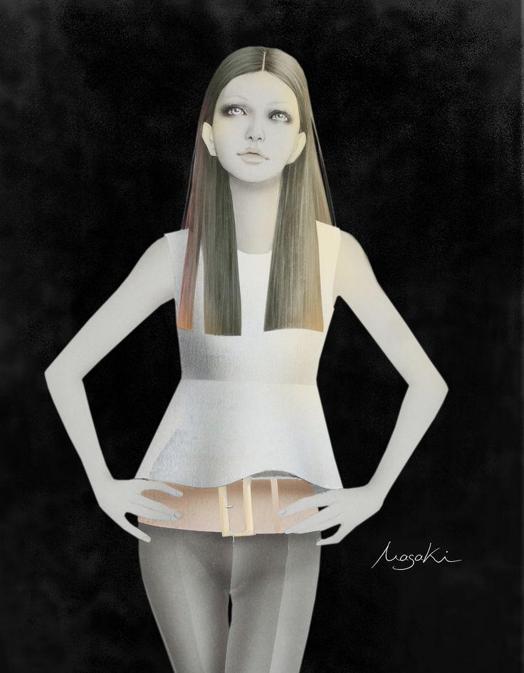 Masaki Mizuno Fashion Illustration