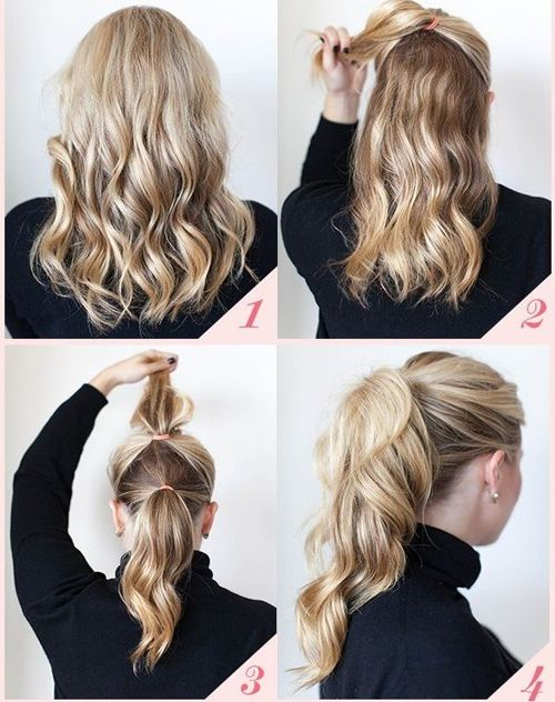 Stylish Ponytail Hairstyle Tutorial 2016 for Prom