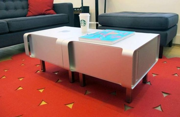 Connect a couple of Powermacs together and add legs for a geeky coffee table.   - PopularMechanics.com