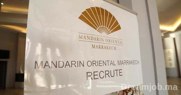 Mandarin Oriental Marrakech recrute 5 Profils - توظيف (5) منصب • DREAMJOB.MA