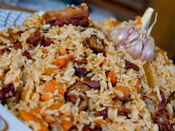 Uzbek plov recipe medina her grandmother made me the for Atlas house uzbek cuisine