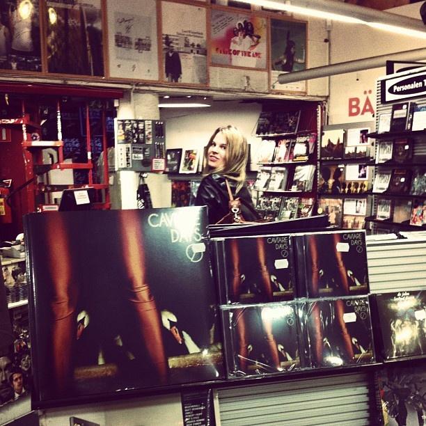 Maja @Bengans i Göteborg