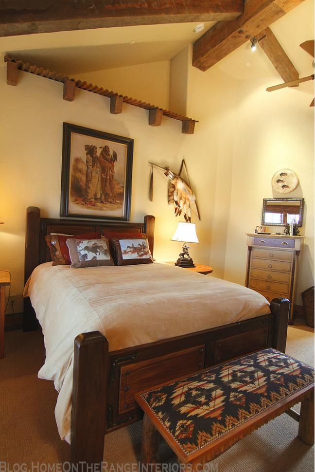 10 Ideas About Western Bedrooms On Pinterest Western
