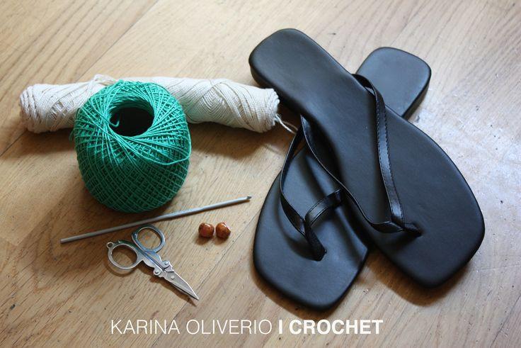 Crochet in your feet, pattern!