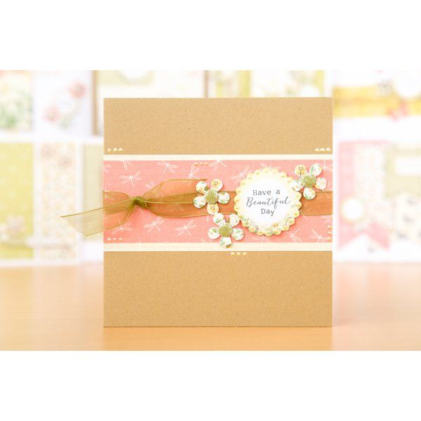 Craftwork Cards Hedgerow and Meadow Collections with Free 8x8 Cardstock Pack No Colour