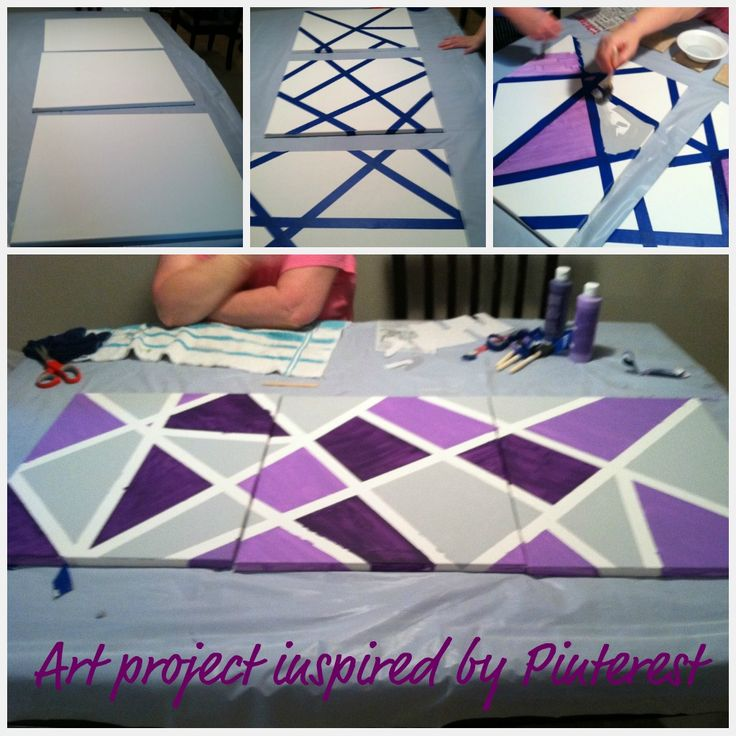 tape art canvas masking tape paint art chili rec crafts pinterest malen. Black Bedroom Furniture Sets. Home Design Ideas