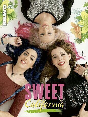 Poster de Sweet California en la revista Bravo (finales de mayo de 2014)