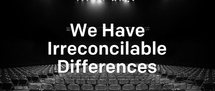 """A recap of Senior PastorPerry Noble'ssermon, """"We Have Irreconcilable Differences,"""