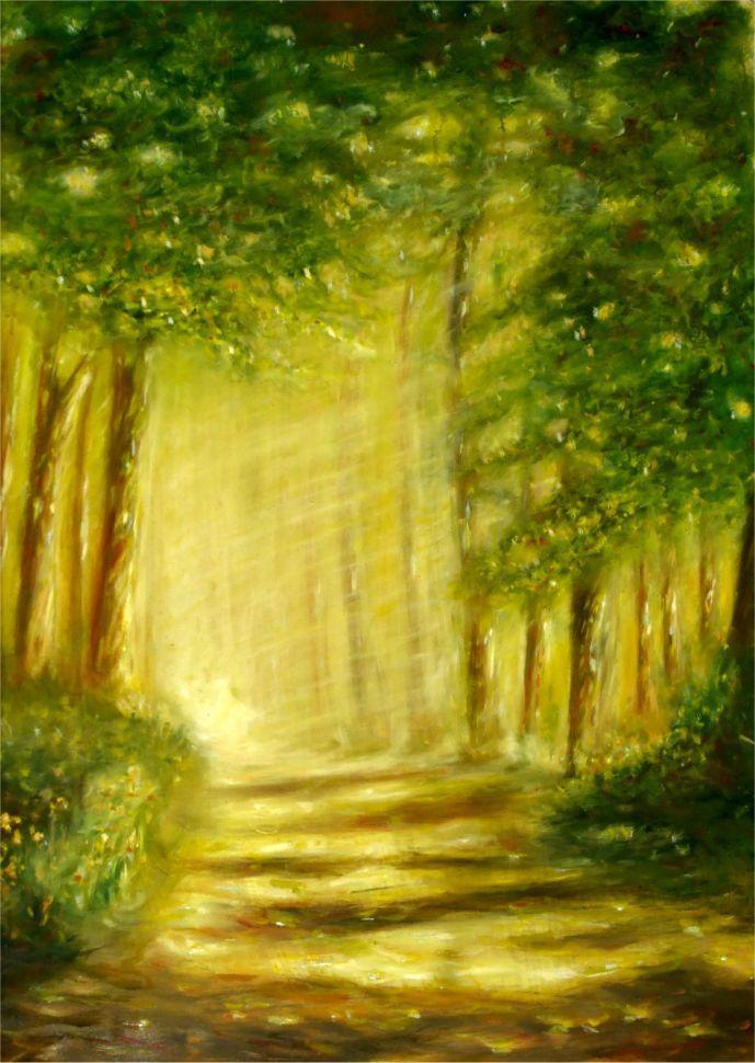Forest in Zala by Angela Sütő