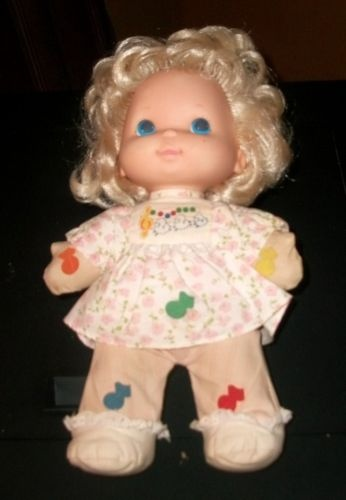 Vintage 1974 Mattel Mary Had a Little Lamb Musical Doll. I had one and loved this doll until my brother cut her hair off! :(