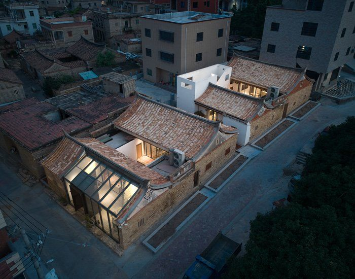 Xiangyuxiangyuan Home Stay Combines Old And New Constructions In China S Xiang An District In 2020 Architecture Ancient Buildings Landscape