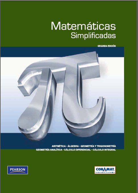 Matemáticas Simplificadas - Conamat - PDF - Español  http://helpbookhn.blogspot.com/2014/12/matematicas-simplificadas-conamat-pdf.html
