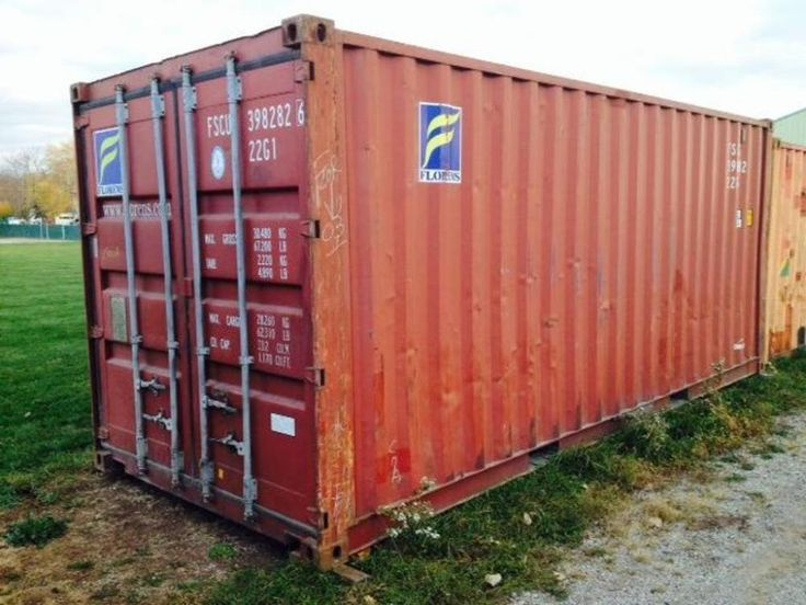20 Ft Shipping Container ONLINE ONLY AUCTION Ending