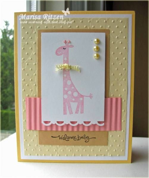 using Stampin Up Wild about You retired stamp set.