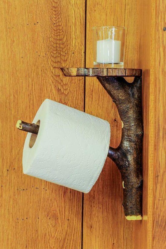 12 Ideen für clevere und kreative Toilettenpapierhalter – #clever #Creative #holde …