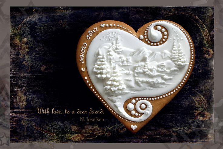 Winter cookie by Neli Josefsen   NELKA J on FLICKR