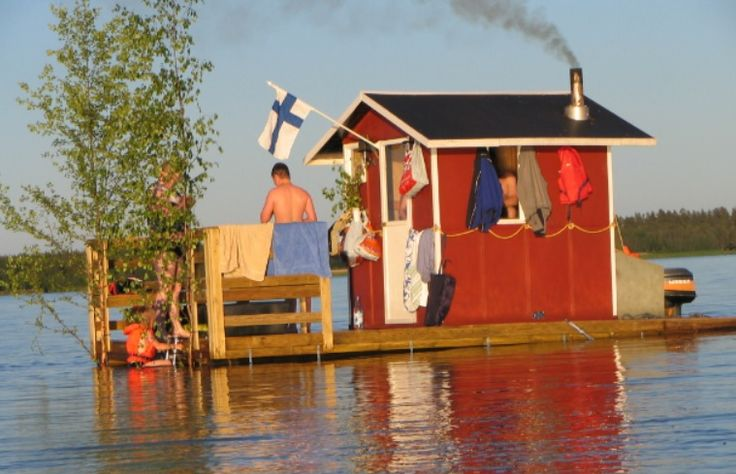 The Floating Saunas of Finland