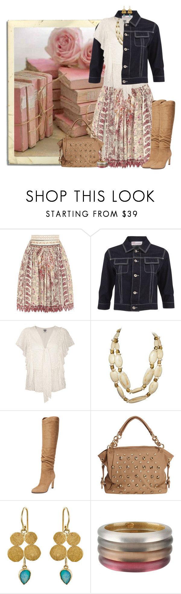"""woo me with books"" by niteowlgirl ❤ liked on Polyvore featuring Prada, Etro, RED Valentino, Chanel, Sigerson Morrison, SW Global, Judy Geib and Alexis Bittar"