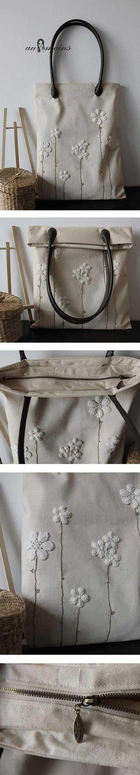 İşlemeli ve desenli çantalar, daha spor ve şirin bir hava yaratacaktır...