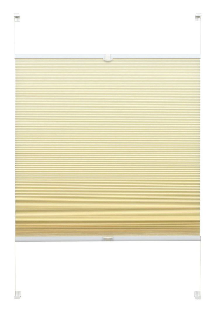 Technische Daten:  25 mm Wabe, blickdicht, energiesparend, schallabsorbierend, individuell höhenverstellbar über 2 Bedienschienen aus Aluminium, inkl. 4 Klemmträgern zur einfachen Montage auf dem Fensterflügel,  Ausführung:  Das Plissee ist verspannt und kann in jeder Stellung positioniert werden. Kein Pendeln beim Kippen des Fenster,  Qualität:  Lichtschutz - ohne Verdunkelung: Lässt Tagesli...