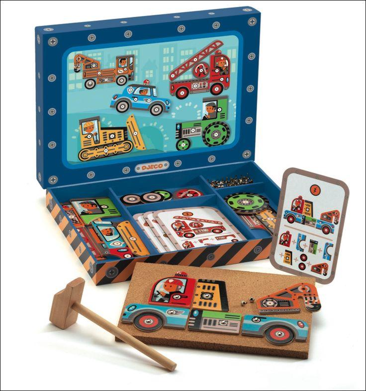 #Djeco Hamertje tik voertuigen 4j from www.kidsdinge.com www.facebook.com/pages/kidsdingecom-Origineel-speelgoed-hebbedingen-voor-hippe-kids/160122710686387?sk=wall http://instagram.com/kidsdinge #Kidsdinge #Toys #Speelgoed