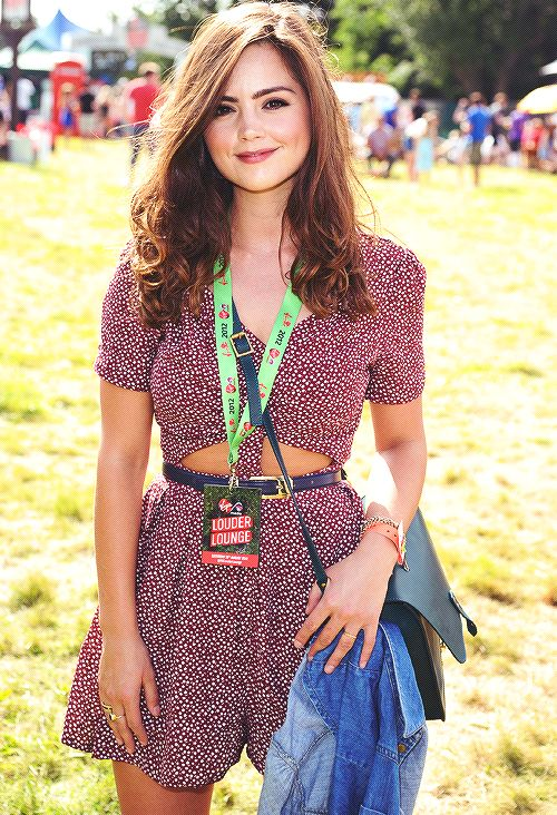 i try to post pictures of jenna coleman. So yeah. Shes pretty