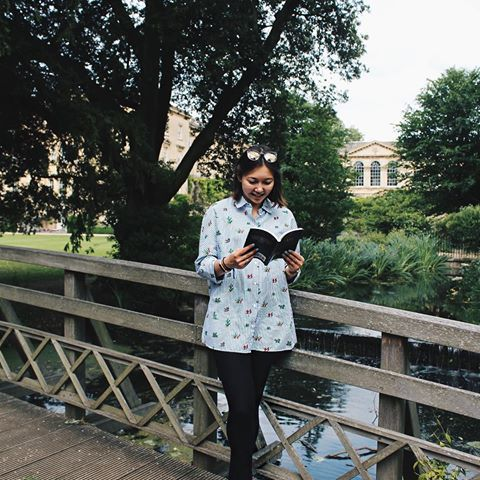 Reading in Worcester College, Oxford University