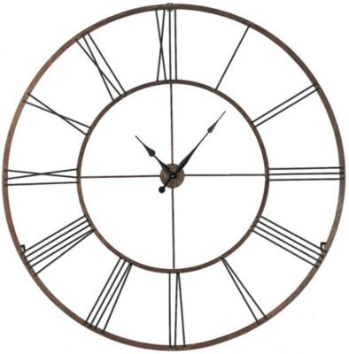 a simple yet bold clock that would look great in any room of my house large wall