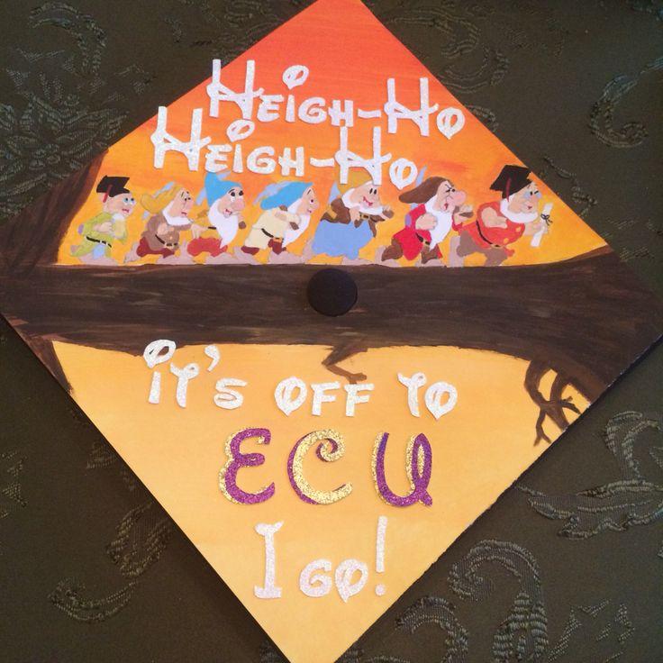 Snow White graduation cap I made