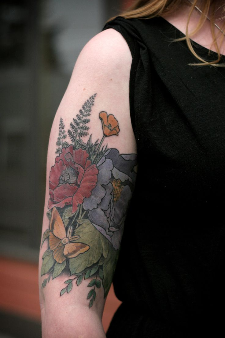 626 best tattoos images on pinterest tattoo ideas tattoo art and alice carrier tattoo ink flowers nature floral fern poppy biocorpaavc Images