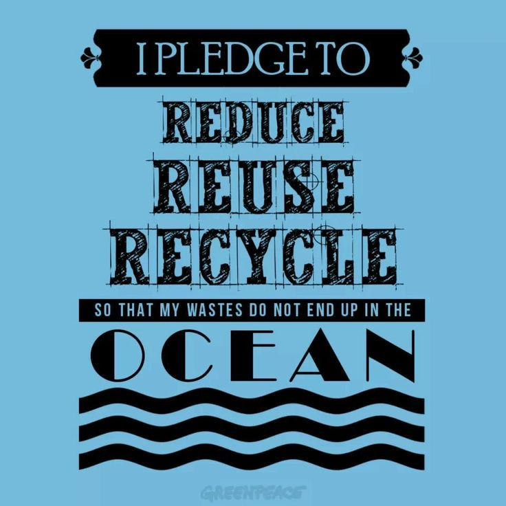 It's time for us to think, to act, to save our environment ...