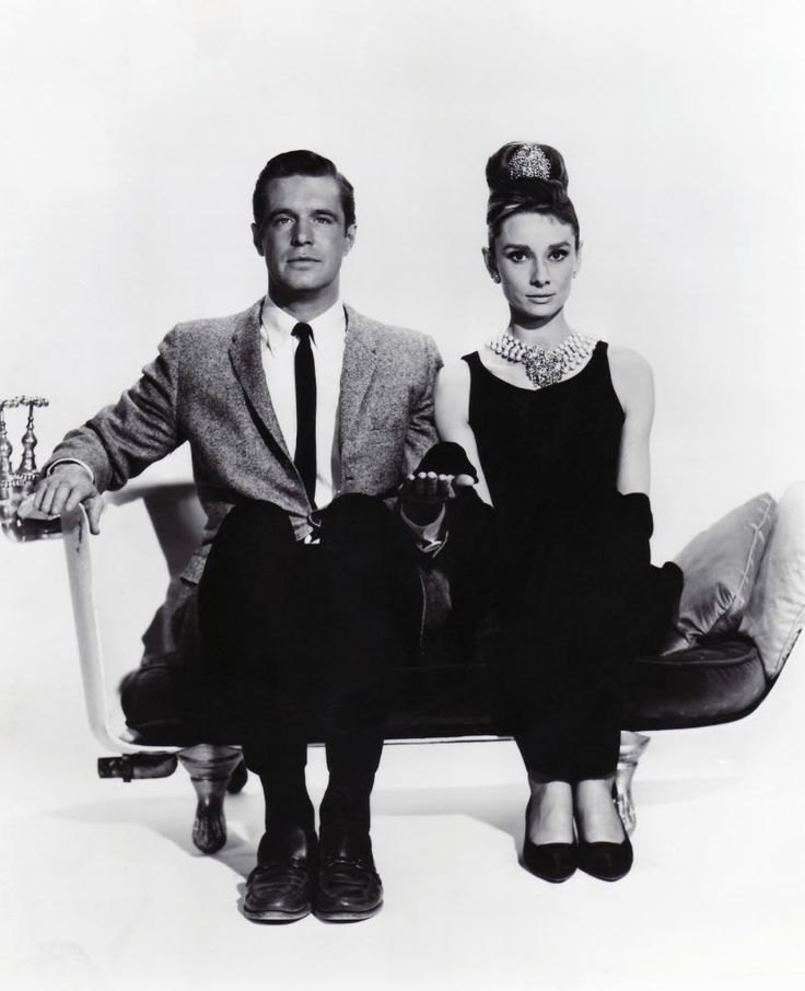 george peppard and audrey hepburn relationship