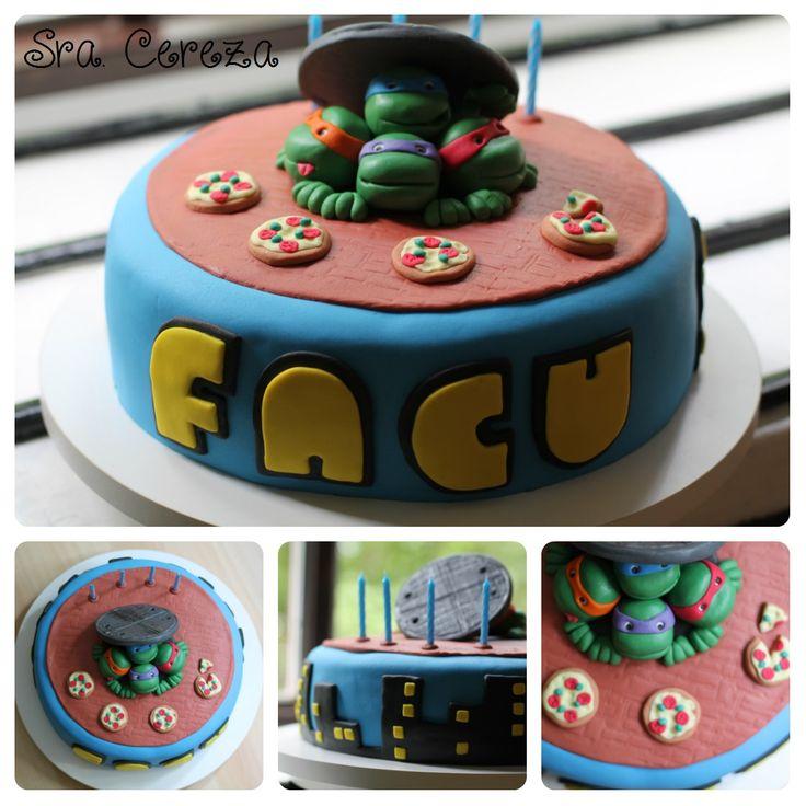 Torta de las Tortugas Ninja - TMNT Cake