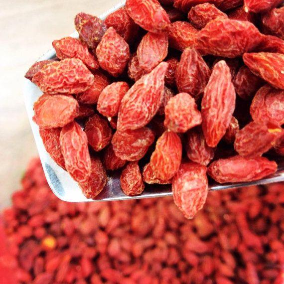 Goji Berries / Lycium chinense 200gr by Armenos on Etsy