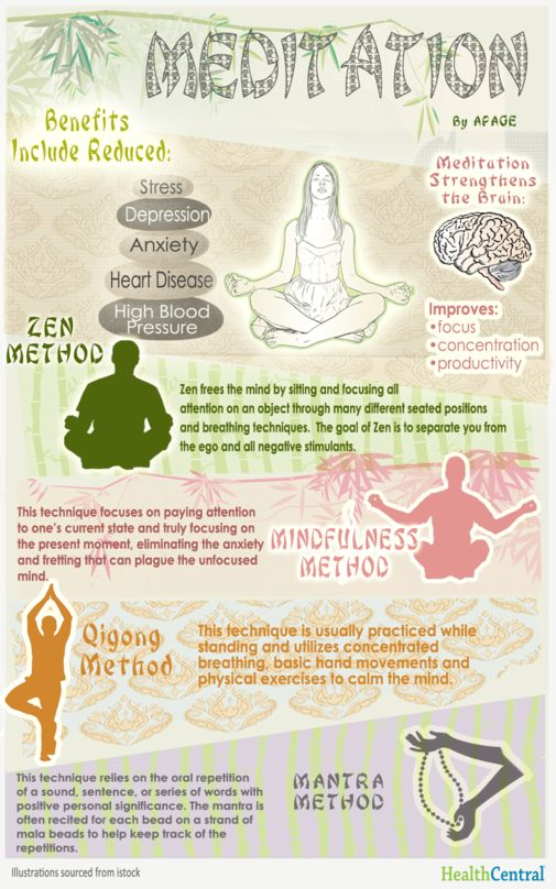 """To the uninitiated, #meditation typically conjures up images of cross-legged yogis chanting """"Om.""""  It may be hard to imagine how this behavior can improve your health, but more and more scientific evidence suggests that it does."""