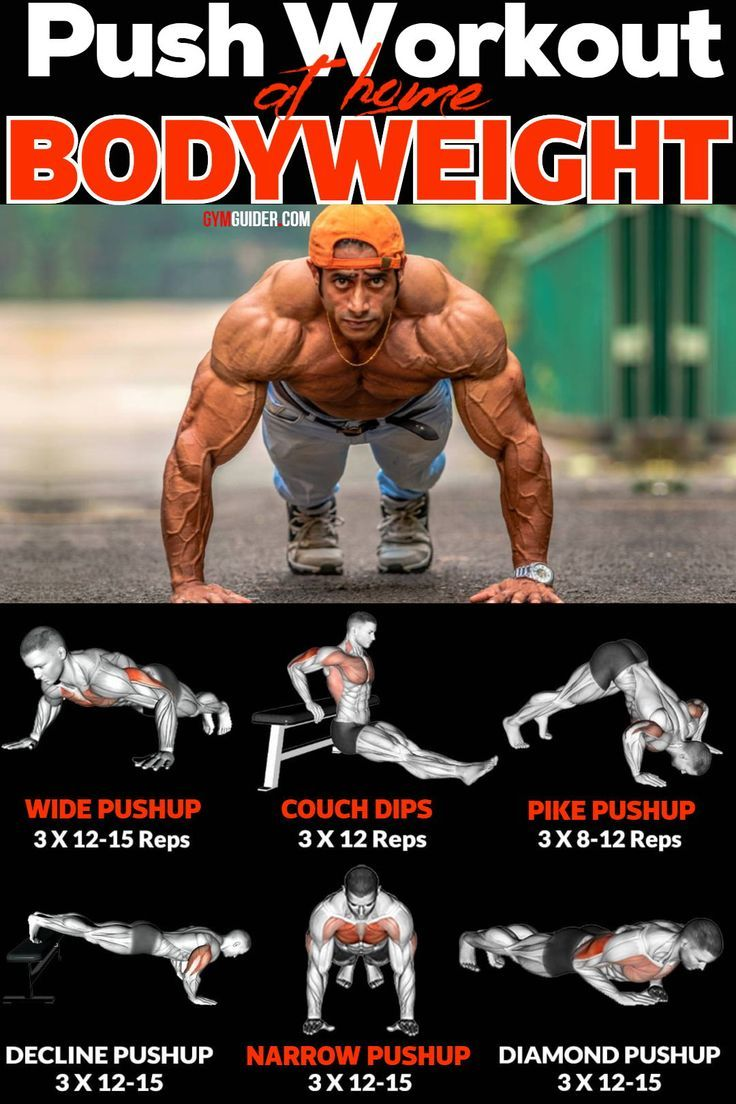 Home Strength Workout Bodybuilding