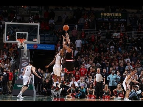 Derrick Rose's Top 10 Plays of the 2012 NBA Season