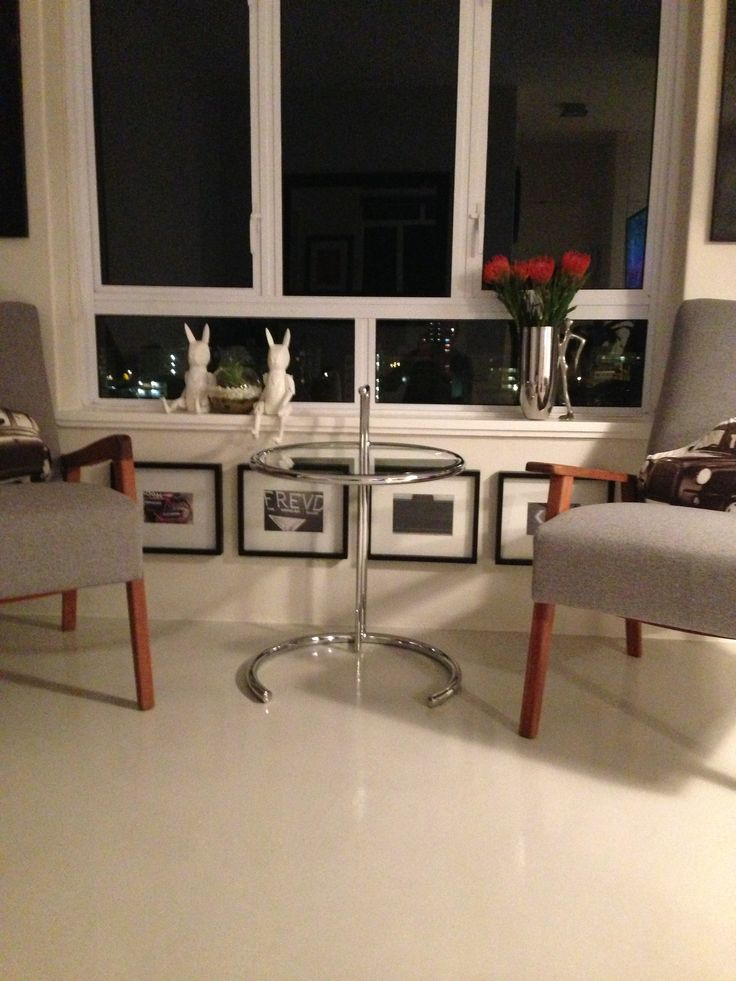 Eileen Gray side table 1982 from Mid Century Modernist Cape Town